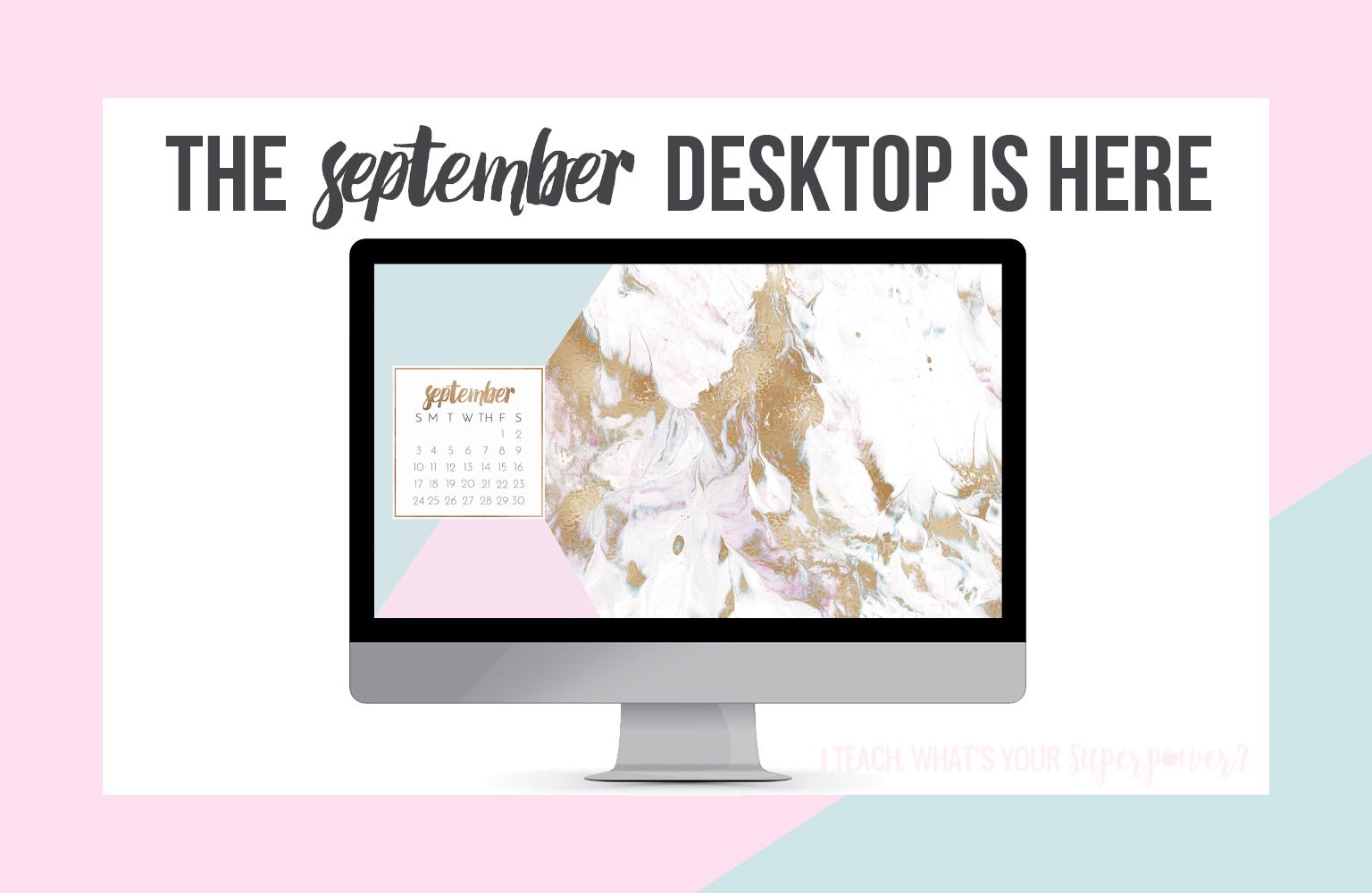 • September 2017 Computer Background •