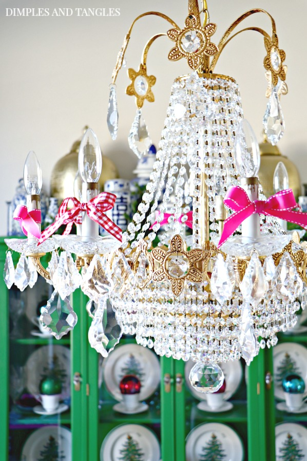 vintage crystal chandelier, prisms, lighting, antique chandelier