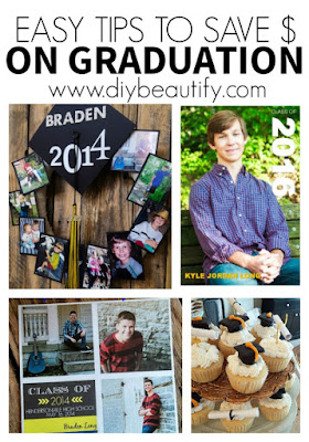 Get these easy tips to save money on your child's graduation! Ideas are free at diy beautify!!