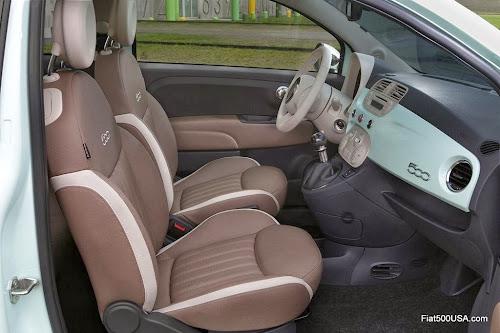 Fiat 500 Cult Seats