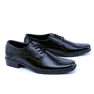 Sepatu kerja garsel,sepatu pantofel bertali,sepatu kerja pakai tali,gambar sepatu kerja pegawai bank,sepatu dinas kulit handmade,sepatu kerja handmade terbaik