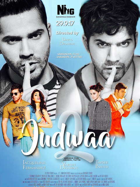 2nd Fan Made Poster of Varun Dhawan's Judwaa 2
