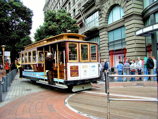 Cable car - San Fransisco - California - USA