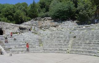El Teatro de Butrinto.