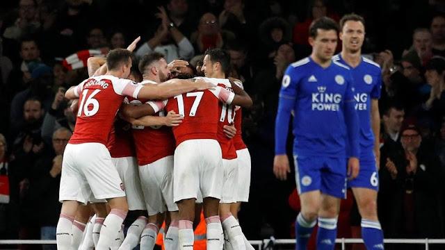 Hasil Liga Inggris: Balikkan Keadaan, Arsenal Taklukkan Leicester 3-1