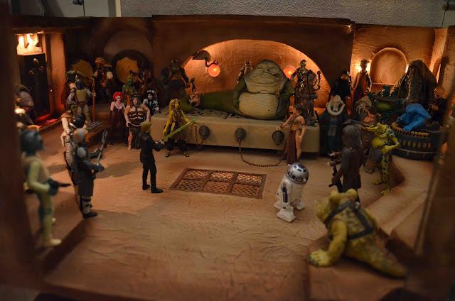 Star Wars Italian Collection Jabba S Palace Diorama