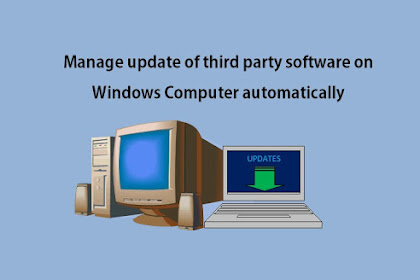 How to automatically update all Third Party software in Windows Computer ?