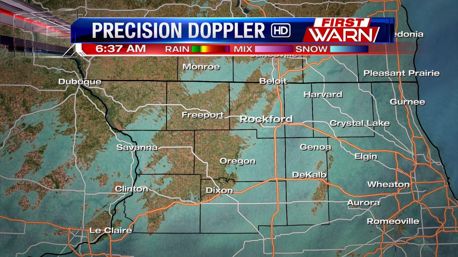 First Warn Weather Team: Wednesday morning snow update