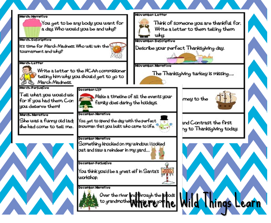 Year 3 Narrative Writing Prompts