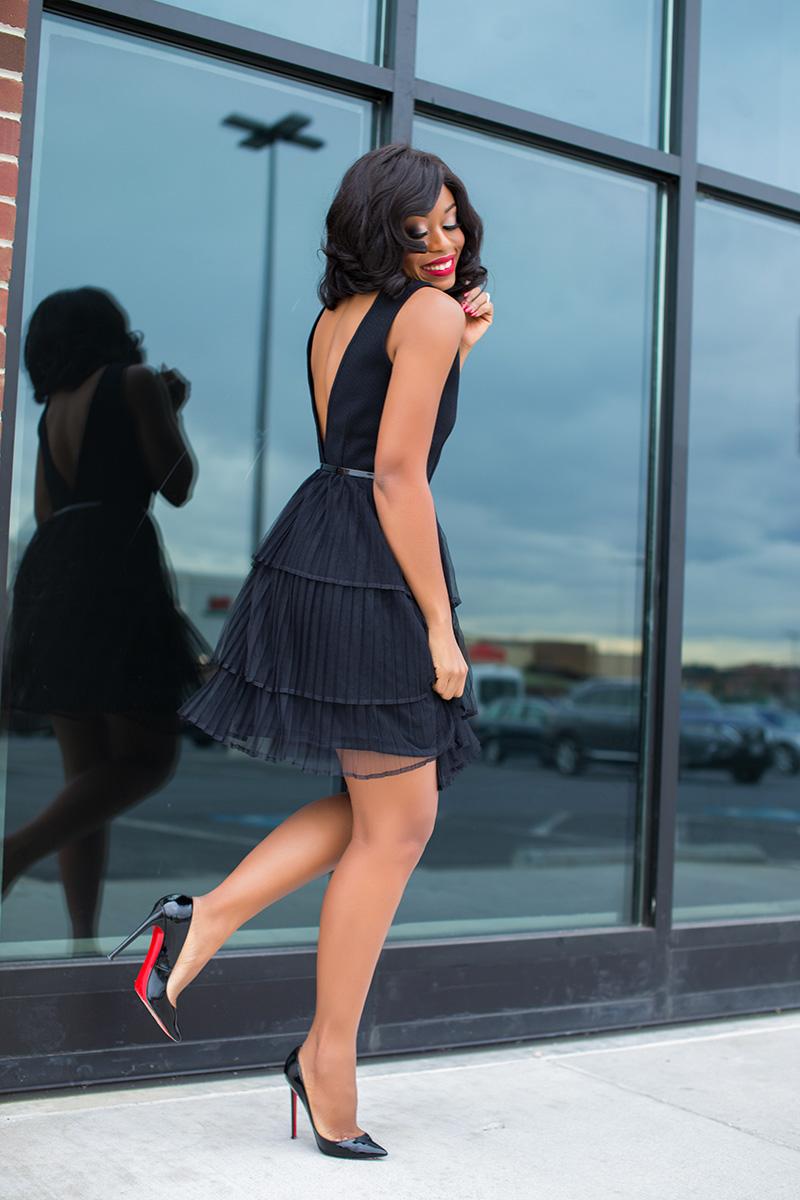 Not so little black dress, www.jadore-fashion.com