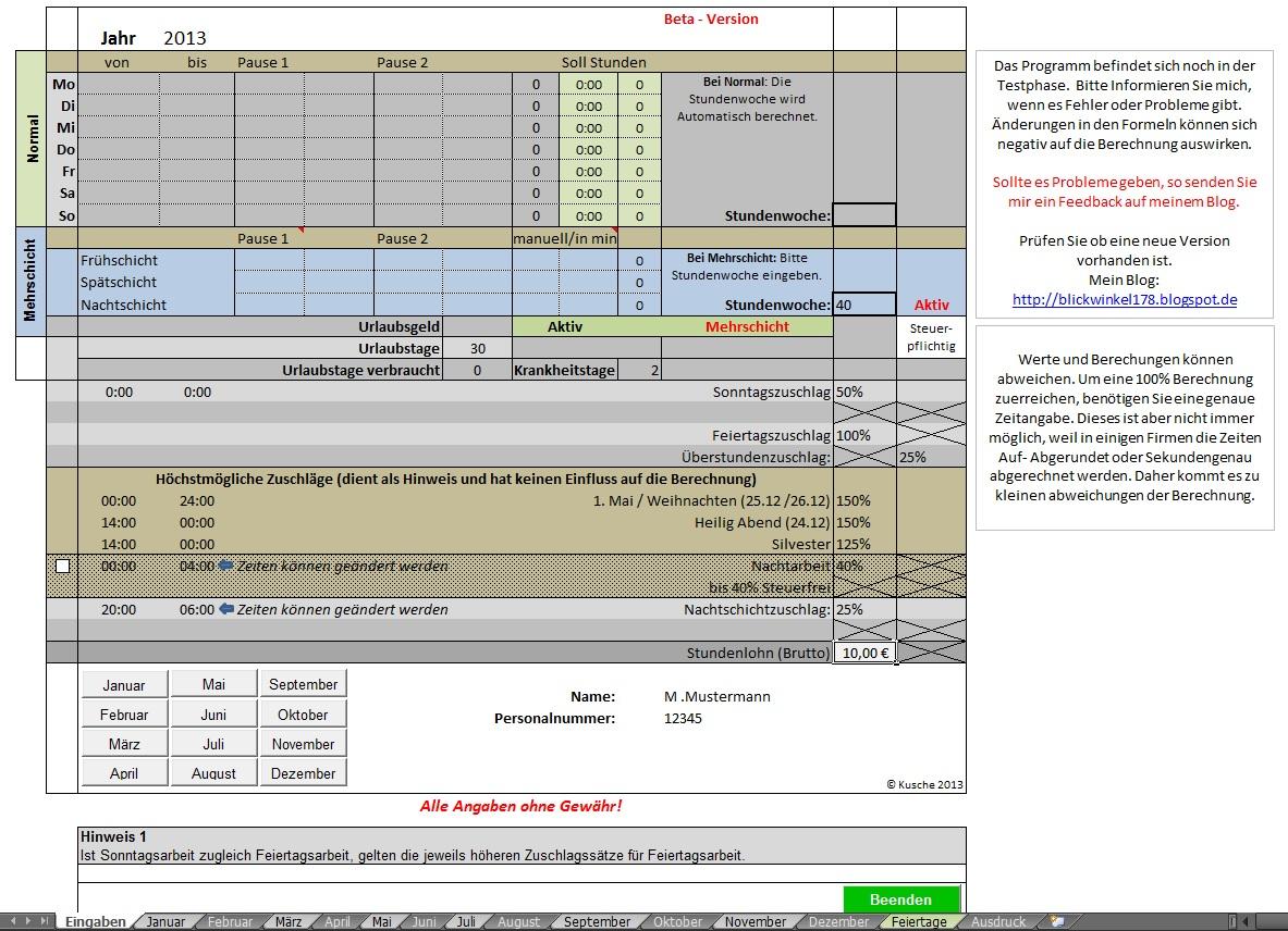 Ungewöhnlich Lohnzettel Vorlage Excel Galerie - Beispiel Business ...
