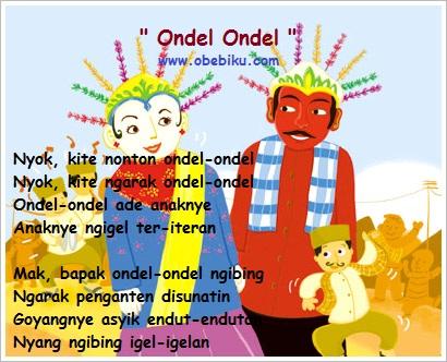 Lagu Anak Anak - Ondel Ondel - GALLERY MULTIMEDIA