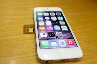 Huong dan cach ghep sim iphone 5