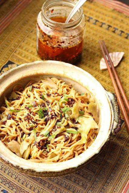 nouilles recette chinoise sesame