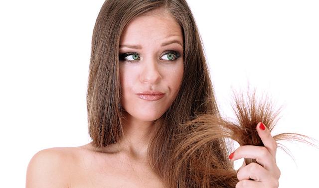 Química estraga o cabelo