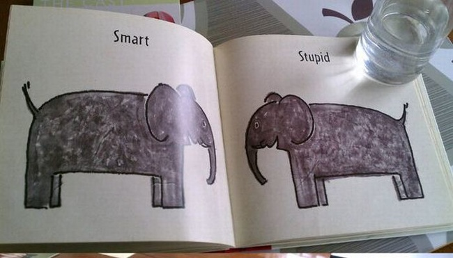 21 Images Discovered in Kids' Books That Raise So Many Questions - So... What's the difference
