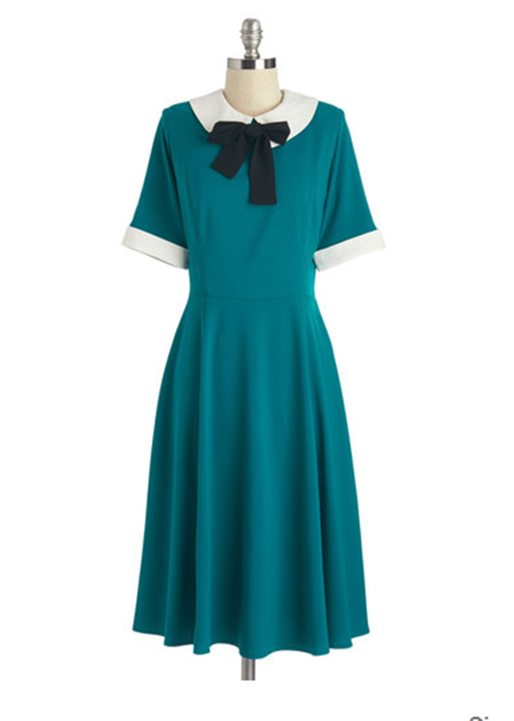 peter pan collar dress from modcloth