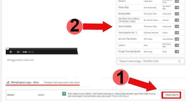 Cara Mencegah Agar Musik Video Youtube tidak Terkena Hak Cipta