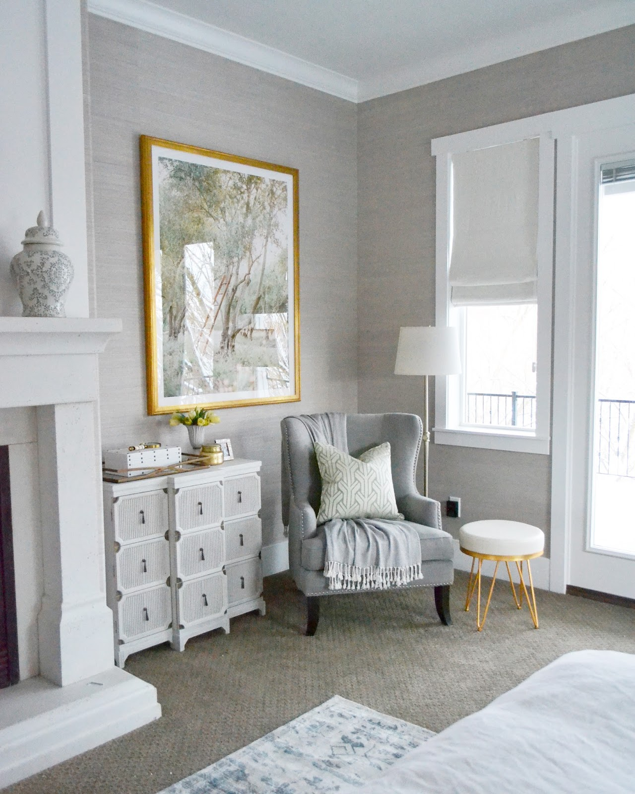 Rooms With Grasscloth Wallpaper: Sita Montgomery Interiors