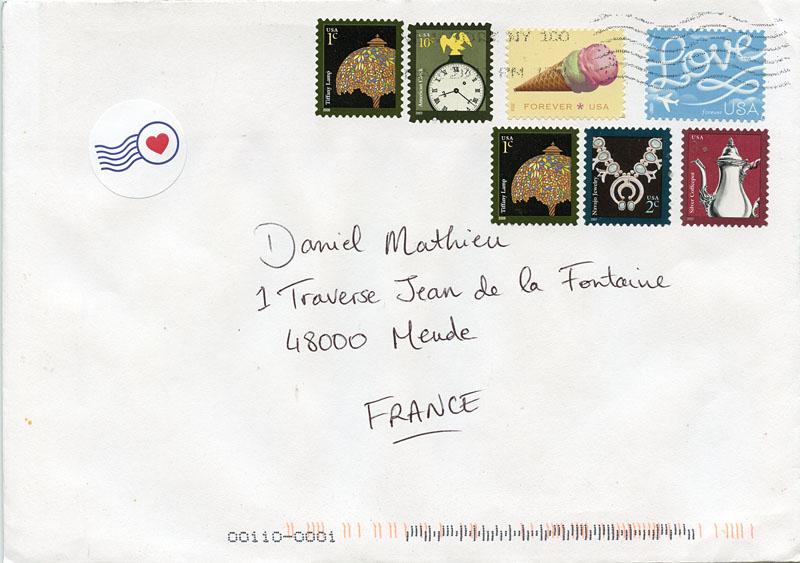lettre usa La Boîte aux Lettres du Monde: Lettre des Etats Unis lettre usa