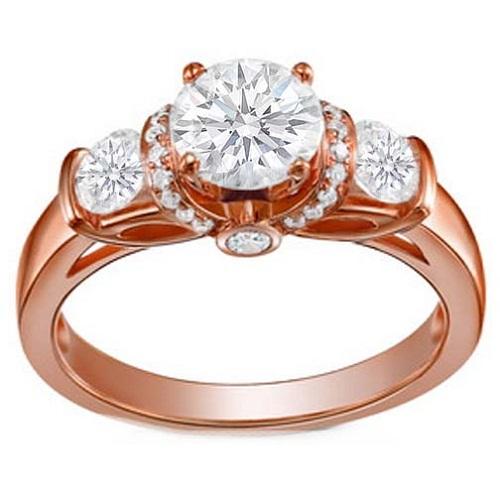 Rose Gold Wedding Rings For Women