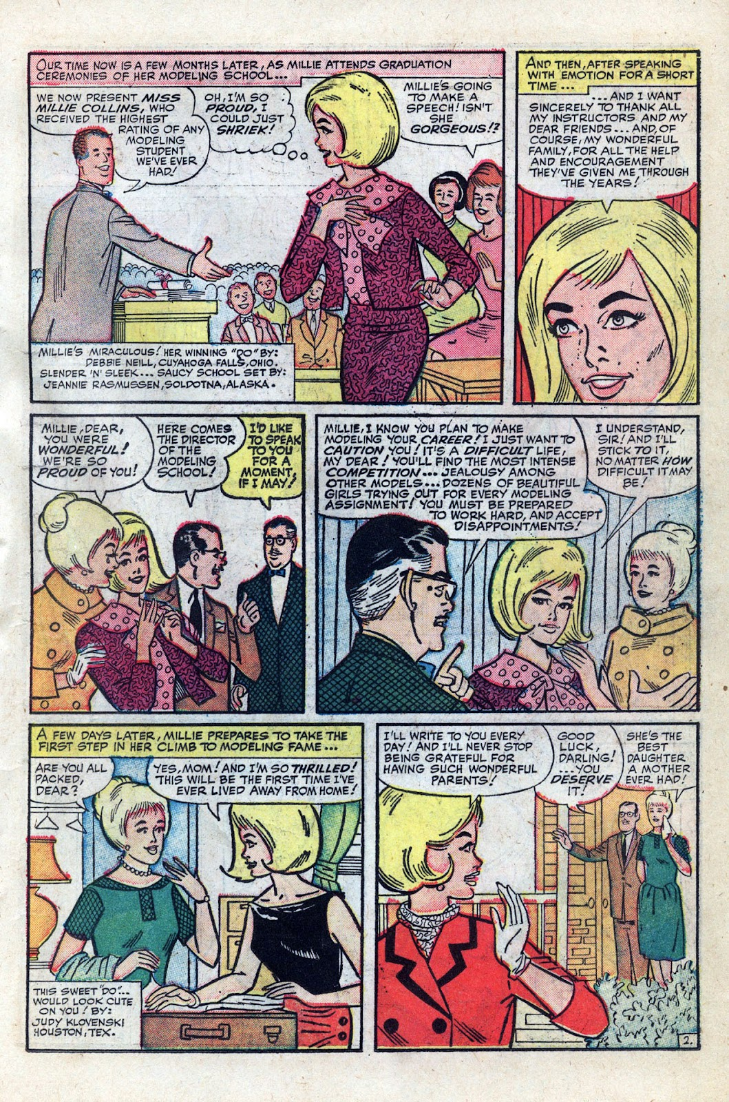 Read online Millie the Model comic -  Issue # Annual 3 - 21