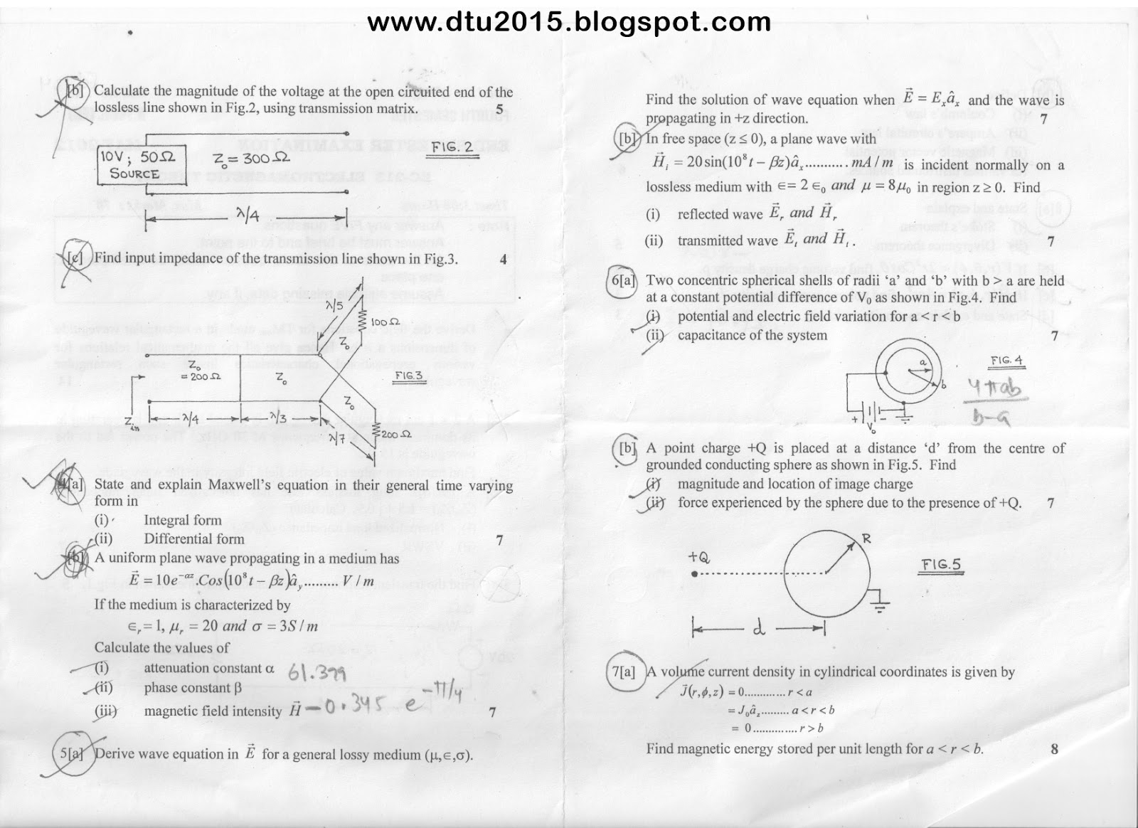 Question Papers - ECE