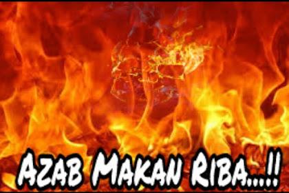 Azab Makan Riba dan Hukumannya dalam Islam
