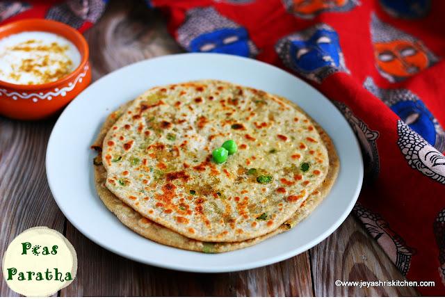 Peas- Paratha