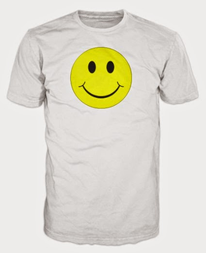 Smiley Face T-Shirt for acid house dress-up