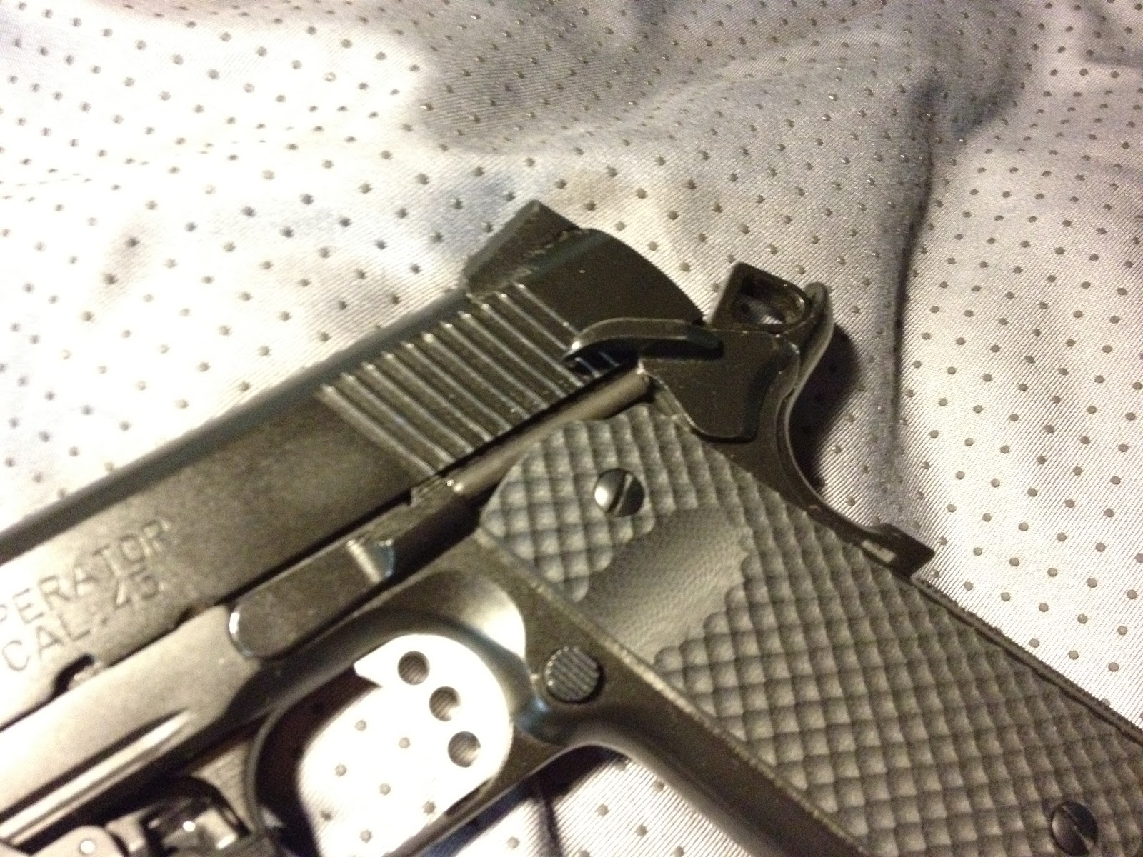Fitting a New Plunger Tube on your 1911 | Modern Service Weapons