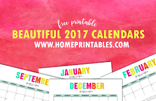 beautiful 2017 calendars