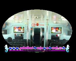 fasilitas kapal express karimunjawa