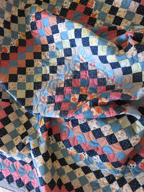 Quilting Square One: TWO trips around the world