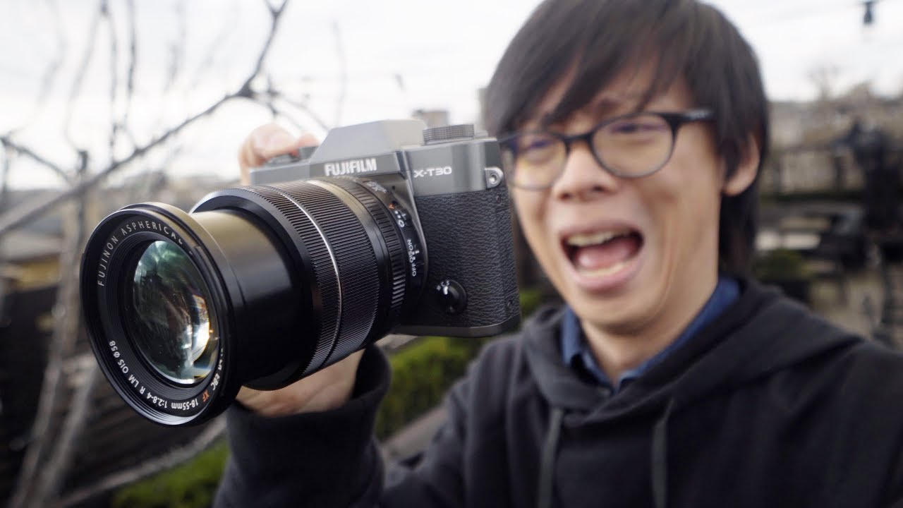 Fujifilm X-T30 First Look