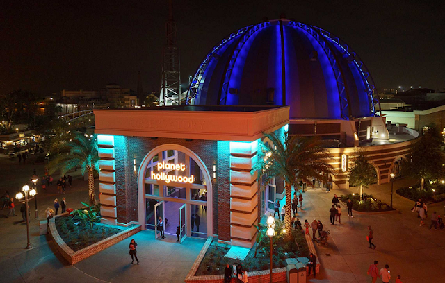 Restaurante Planet Hollywood em Orlando