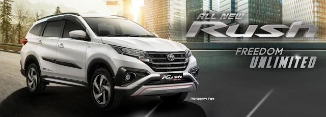 Spesifikasi Toyota Rush Terbaru, Desain Apik yang Hemat Bahan Bakar