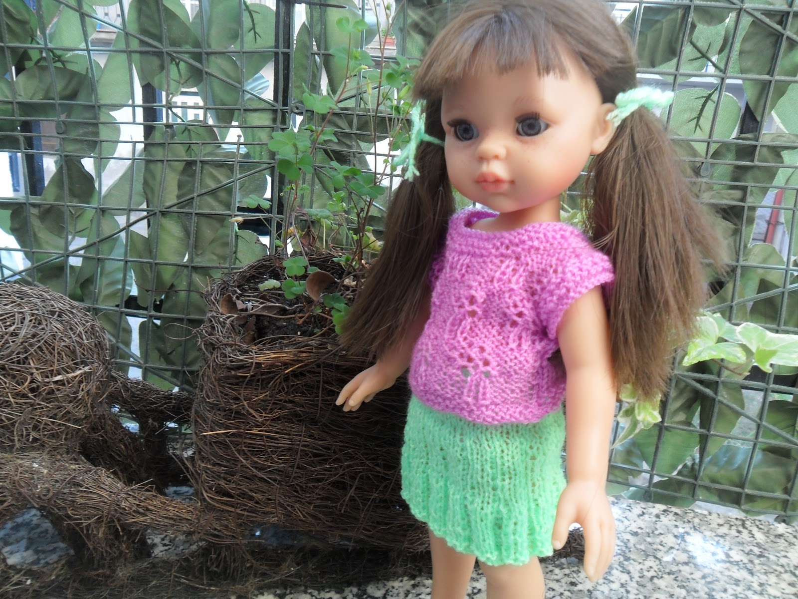 Olive Groves and Doll Knits: Nicoleta ItsImagical Doll.