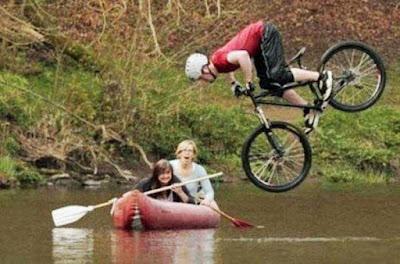 Radtour machen witzige Bilder