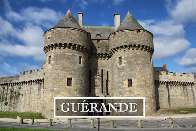 """Visitando Guérande, un pueblo amurallado muy """"salado"""""""