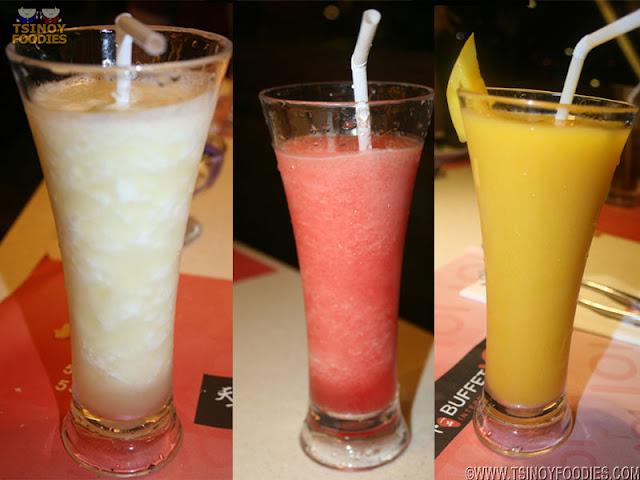 buffet 101 fruit shake