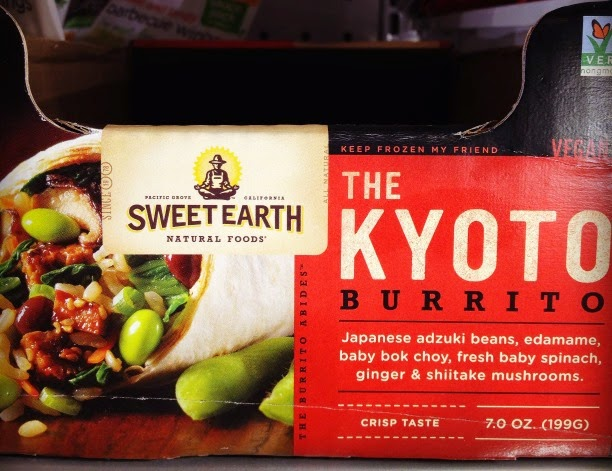 Vegetarian Vegan Frozen Food at Target Sweet Earth The Kyoto Vegan Burrito Non-GMO project verified
