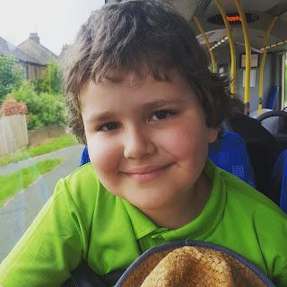 Dan Jon on the Bus