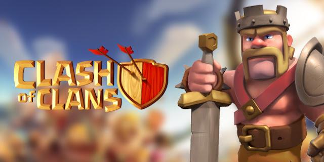 Biaya dan Lamanya Upgarde Barbarian King Level 1-40 Clash Of Clans