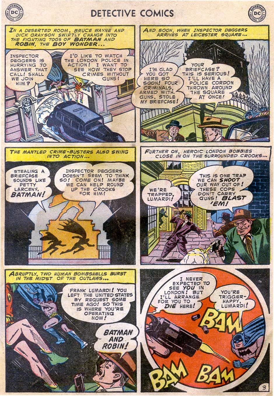 Read online Detective Comics (1937) comic -  Issue #196 - 5
