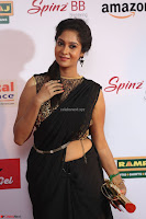 Sindhu looks fabulous in Black Saree designer choli at Mirchi Music Awards South 2017 ~  Exclusive Celebrities Galleries 009.JPG