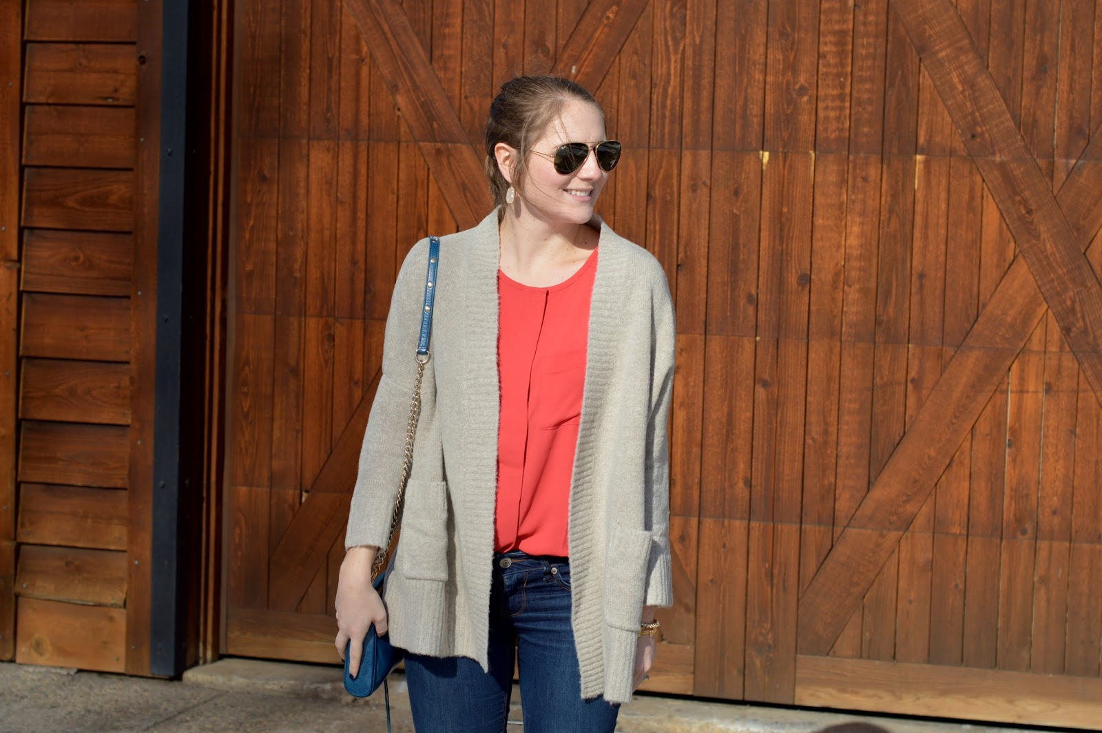 how to incorporate red into your winter wardrobe