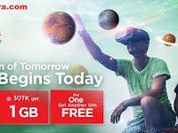 Robi and airtel together offer | 1 GB at Tk.30 | 0.5 paisa/second and One SIM free
