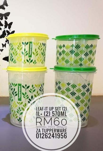 Tupperware Leaf-It Up Set
