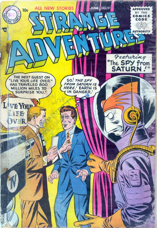 Strange Adventures (1950) issue 57 - Page 1